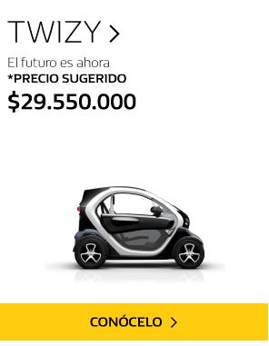 Twizy carro eléctrico colombia