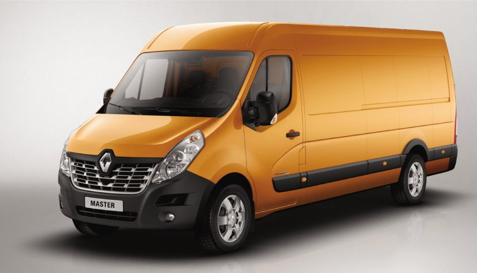 Diseño exterior Renault Master