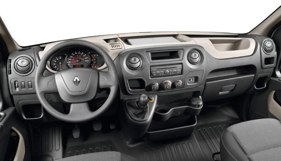 Diseño interior Renault Master