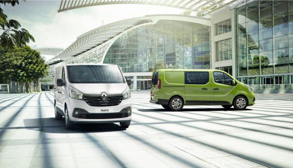 Diseño exterior Renault Nueva Trafic