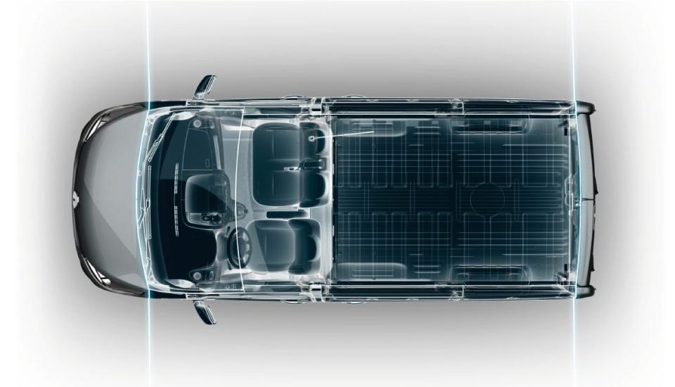 Diseño interior Renault Nueva Trafic
