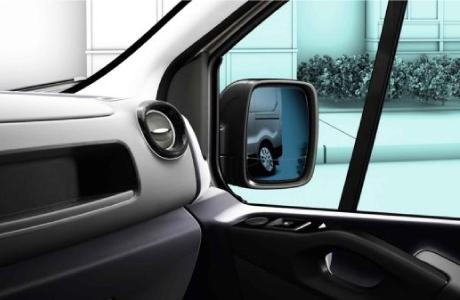 Retrovisor externo asférico doble Renault Nueva Trafic