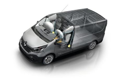 Seguridad Renault Nueva Trafic