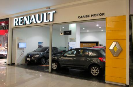 Sede Caribe Motor Renault Centro Comercial Santafé