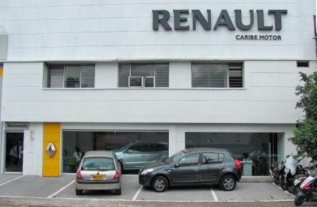 Sede Caribe Motor Renault Euroautos