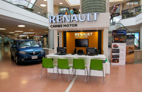Sede Caribe Motor Renault Centro Comercial Unicentro