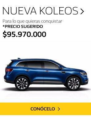 Renault koleos Medellín