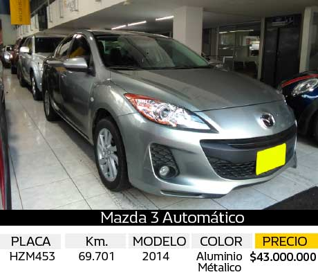 MAZDA 3 ALL NEW AUT 1.6 USADA
