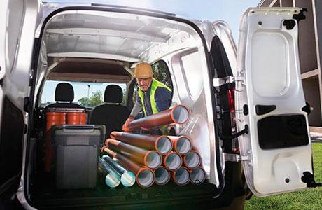 Capacidad de carga Renault Kangoo