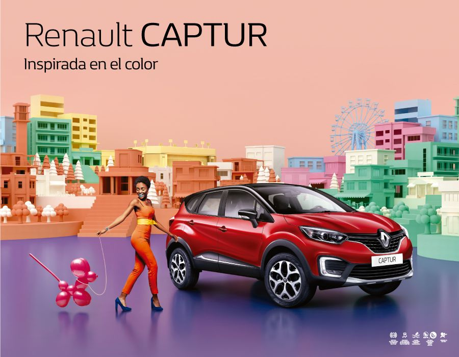 Captur Colors