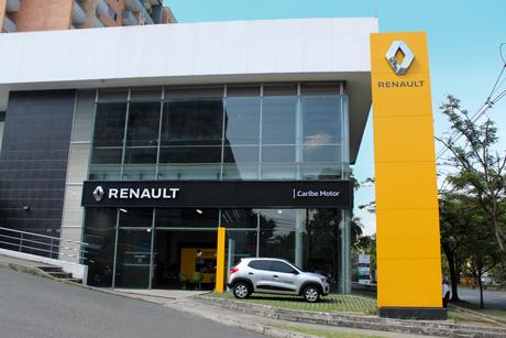 Sede Caribe Motor Renault Avenida Las Vegas